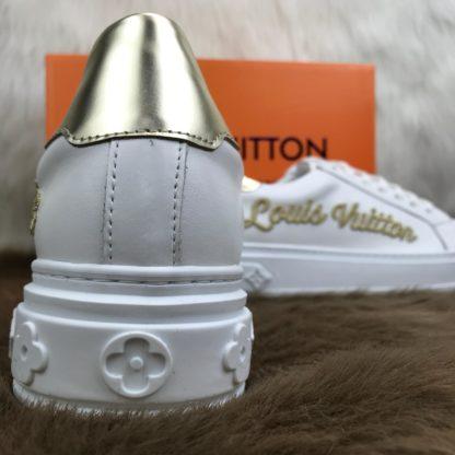 louis vuitton Spor Ayakkabi timeout sneaker beyaz gold