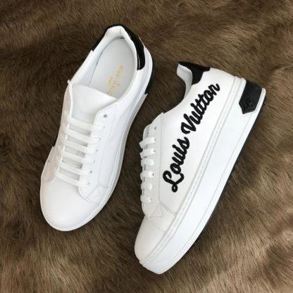 louis vuitton Spor Ayakkabi timeout sneaker siyah beyaz