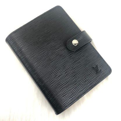 louis vuitton ajanda epi siyah toz torbali 19x10cm