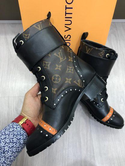 louis vuitton bot bot monogram turuncu