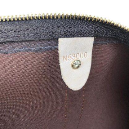 louis vuitton canta Keepall el valizi siyah sap monogram unisex 55x31x26