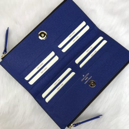 louis vuitton cuzdan Adele mavi 21x10
