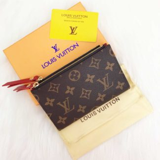 louis vuitton cuzdan Adele mini kirmizi 15x10