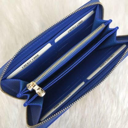 louis vuitton cuzdan Zippy civit mavi 20x11