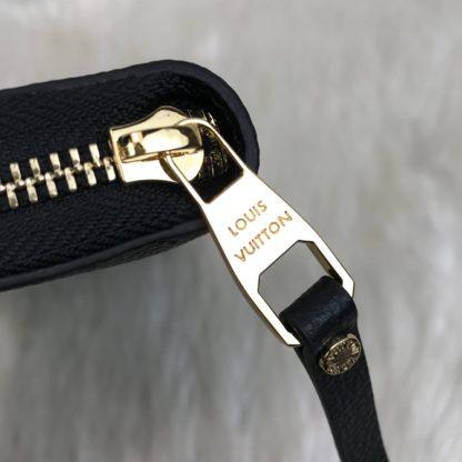 louis vuitton cuzdan Zippy siyah 20x11