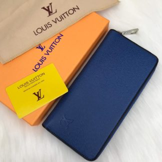 louis vuitton cuzdan Zippy vertical mavi 20x10