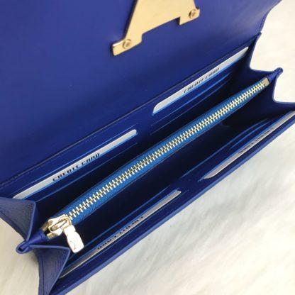 louis vuitton cuzdan capucines civit mavi 20x11