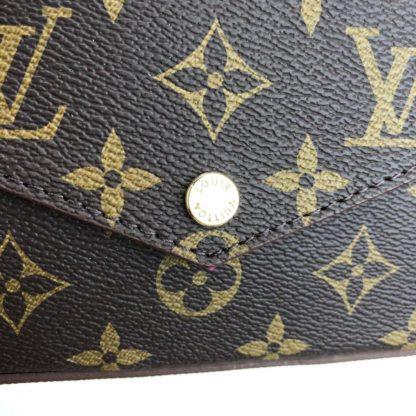 louis vuitton cuzdan cuzdan felice monogram 22x12