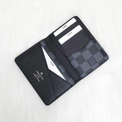 louis vuitton cuzdan kartlik siyah 11x7