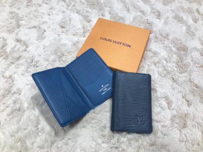 louis vuitton kartlik epi mavi pocket organiser 11x7cm