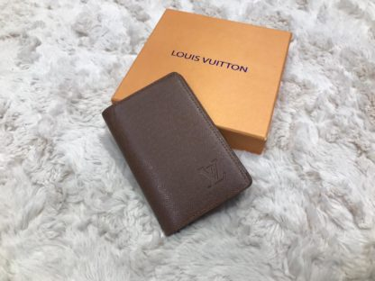 louis vuitton kartlik kahve pocket organiser 11x7cm