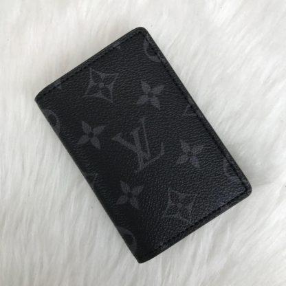 louis vuitton kartlik monogram siyah pocket organiser kutulu11x7cm