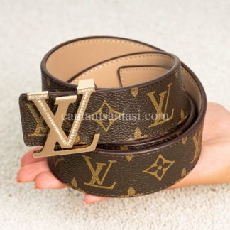 louis vuitton kemer monogram tasli gold toka