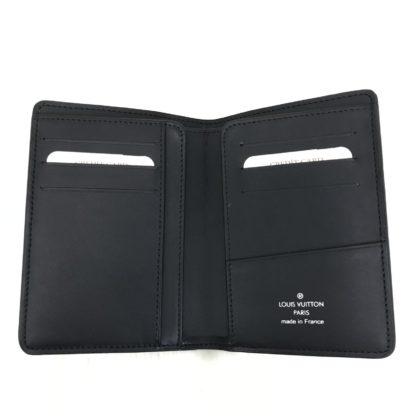 louis vuitton pasaport kilifi damier siyah 13x10cm
