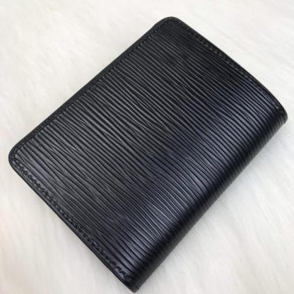 louis vuitton pasaport kilifi epi siyah 13x10cm