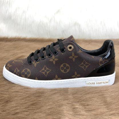 louis vuitton sneakers frontrow monogram