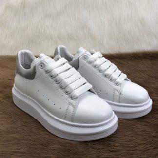 Alexander McQueen Spor Ayakkabi Sneaker Arkasi gri