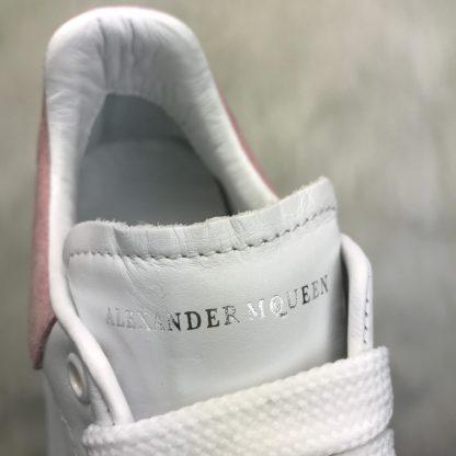 Alexander McQueen Spor Ayakkabi Sneaker Arkasi pembe suet