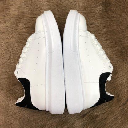Alexander McQueen Spor Ayakkabi Sneaker Arkasi siyah suet