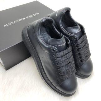 Alexander McQueen Spor Ayakkabi Sneaker siyah