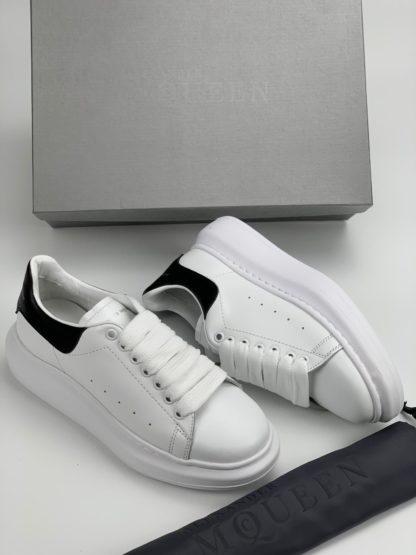 Alexander McQueen Spor Ayakkabi Sneaker siyah beyaz
