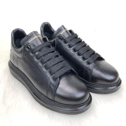 Alexander McQueen Spor Ayakkabi erkek Sneaker Arkasi siyah