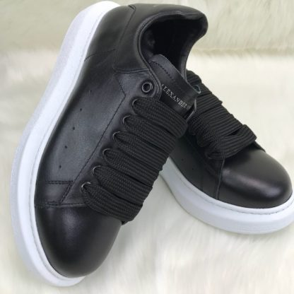 Alexander McQueen Spor Ayakkabi erkek Sneaker siyah