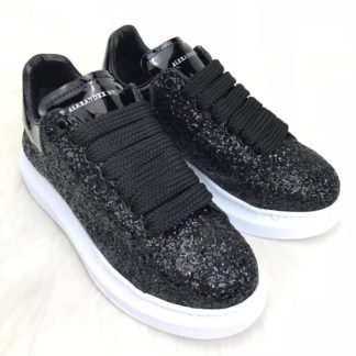 Alexander McQueen Spor Ayakkabi sneaker pul payetli siyah