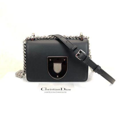 Christian Dior canta Diorama Club siyah 18x12