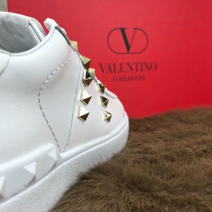 Valentino Spor Ayakkabi unisex sneaker zimbali beyaz