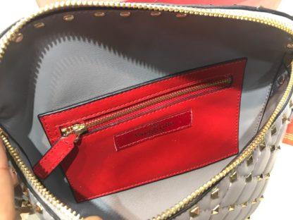 Valentino canta belt bag bel cantasi zimbali gri