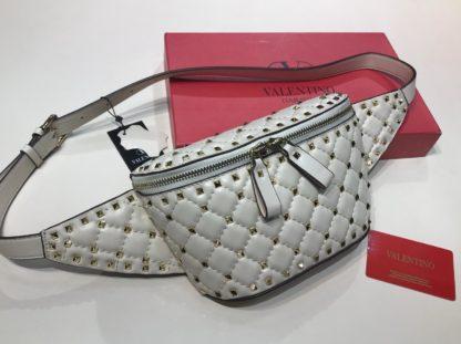 Valentino canta belt bag bel cantasi zimbali krem