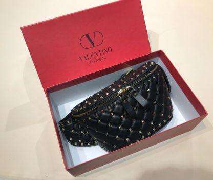 Valentino canta belt bag bel cantasi zimbali siyah
