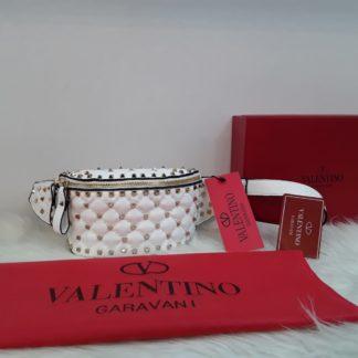 Valentino canta suni deri zimbali bel cantasi beyaz 22x15