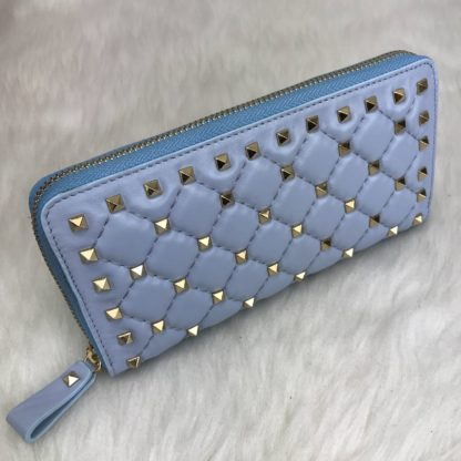 Valentino cuzdan rockstud spike zimbali mavi 19x10