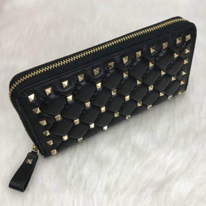 Valentino cuzdan rockstud spike zimbali siyah 19x10