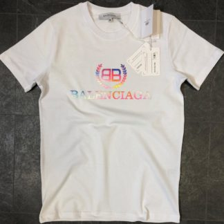 balenciaga tshirt unisex beyaz