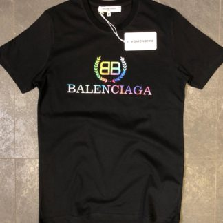 balenciaga tshirt unisex siyah