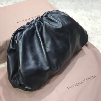 bottega veneta canta pouch duz siyah 35x20