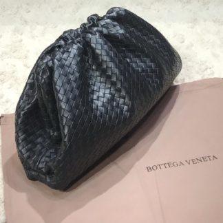 bottega veneta canta pouch siyah orgulu 35x20