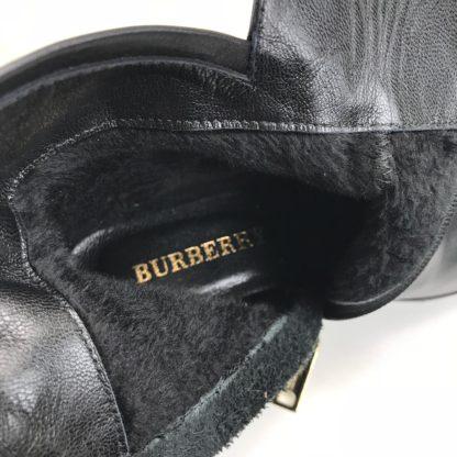 burberry bot siyah ekose