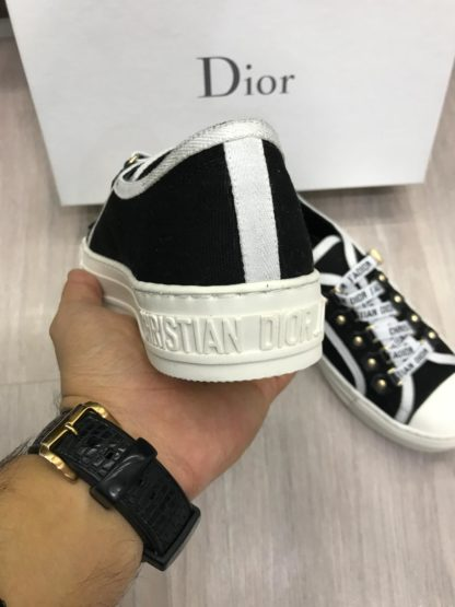 christian dior ayakkabi jadior siyah beyaz tam kalip