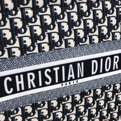 christian dior canta book tote oblique keten 41x32