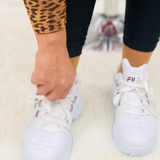 Fila Spor Ayakkabi beyaz yeni
