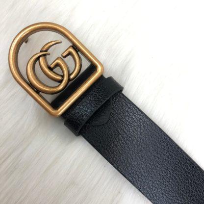 gucci kemer siyah gold mat parlak toka 4cm