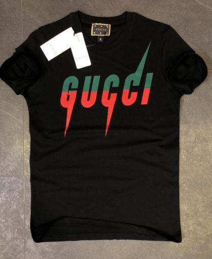 gucci tshirt unisex siyah yazili