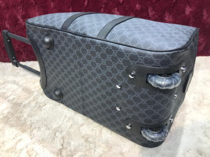 gucci valiz tekerlikli 50cm siyah
