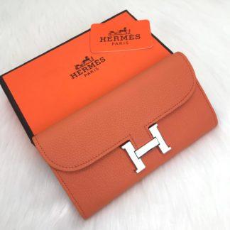 hermes cuzdan constanance turuncu 20x10