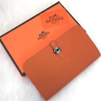 hermes cuzdan dogon turuncu 20x12