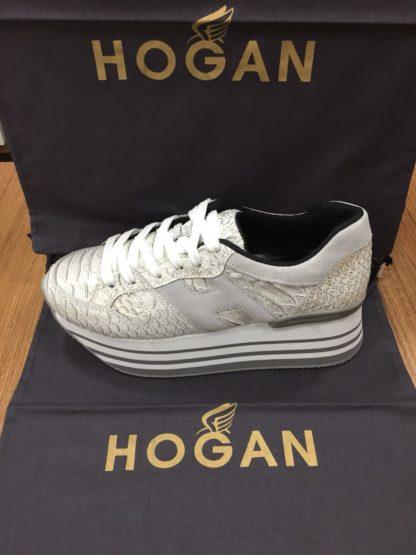 Hogan Ayakkabi yuksek topuk gri